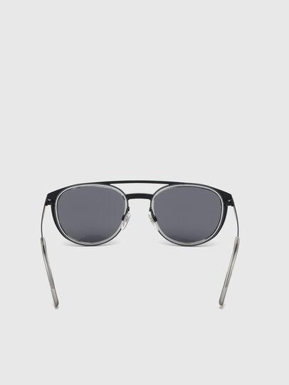 Diesel - DL0293, Black/Grey - Sunglasses - Image 4