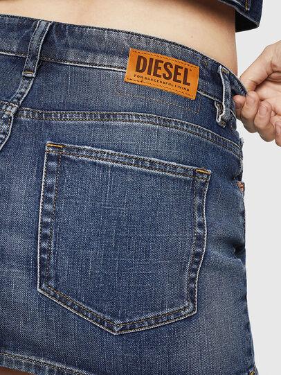 Diesel - DE-EISY, Dark Blue - Skirts - Image 5