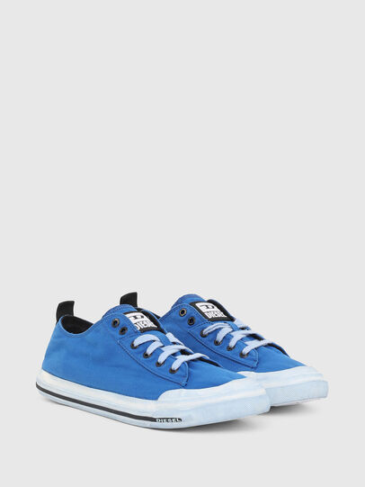 Diesel - S-ASTICO LOW CUT, Blue - Sneakers - Image 2