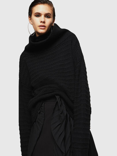 Diesel - MELLEY, Black - Knitwear - Image 1