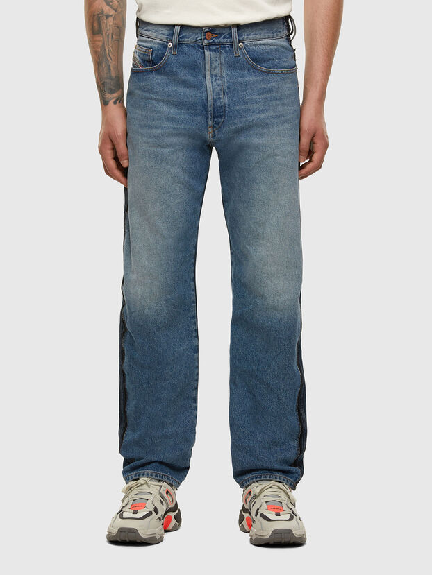 D-Macs 009HX, Medium blue - Jeans