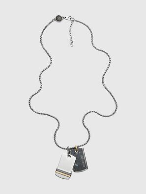 DX1189, Silver - Necklaces