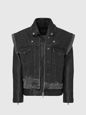 L-KELLY, Black - Leather jackets