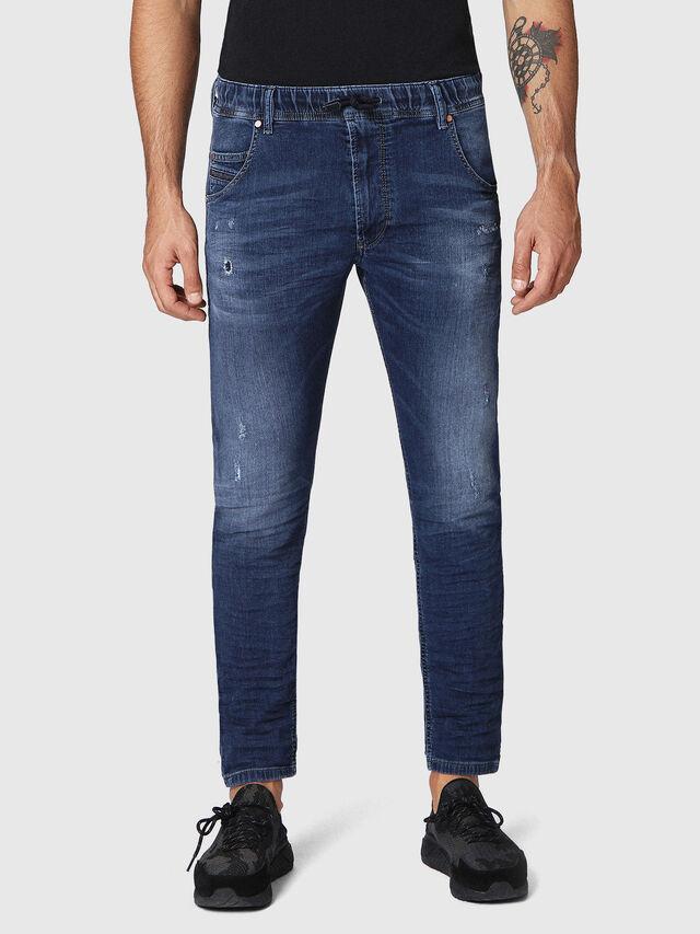 Diesel - Krooley JoggJeans 0686W, Dark Blue - Jeans - Image 1