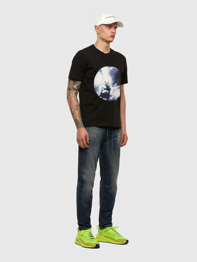 Diesel - D-VIDER JoggJeans® 069NT, Dark Blue - Jeans - Image 5