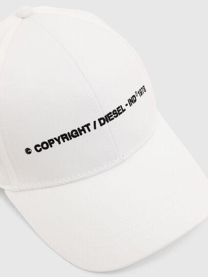 Diesel - COMIXI, White - Caps - Image 3