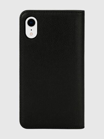 Diesel - DIESEL 2-IN-1 FOLIO CASE FOR IPHONE XR, Black/White - Flip covers - Image 2