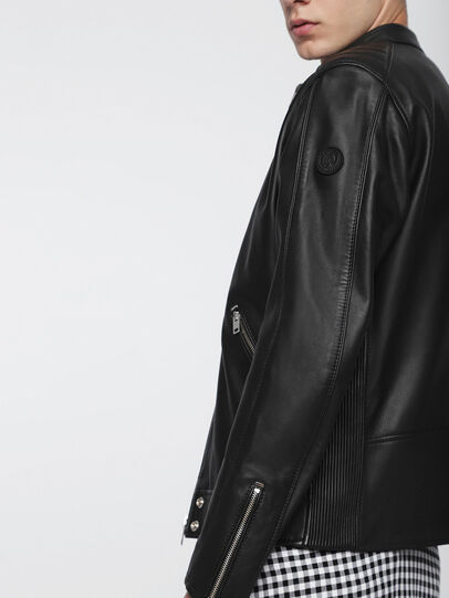 Diesel - L-QUAD,  - Leather jackets - Image 5