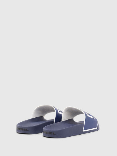 Diesel - SA-VALLA, Blue - Slippers - Image 3