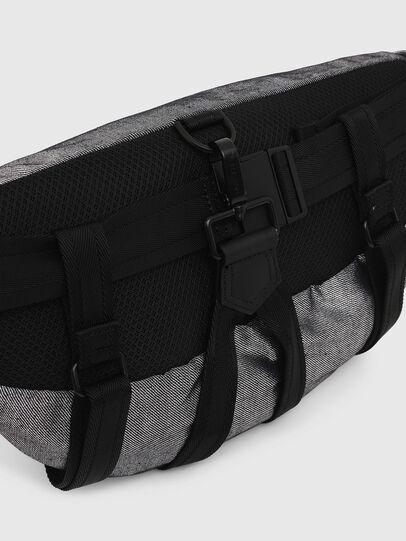 Diesel - TRIBELT, Gray/Black - Backpacks - Image 5
