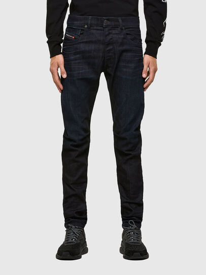 Diesel - D-Strukt 009MP, Dark Blue - Jeans - Image 1
