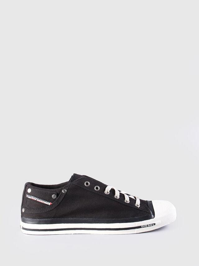 Diesel EXPOSURE LOW, Black - Sneakers - Image 1