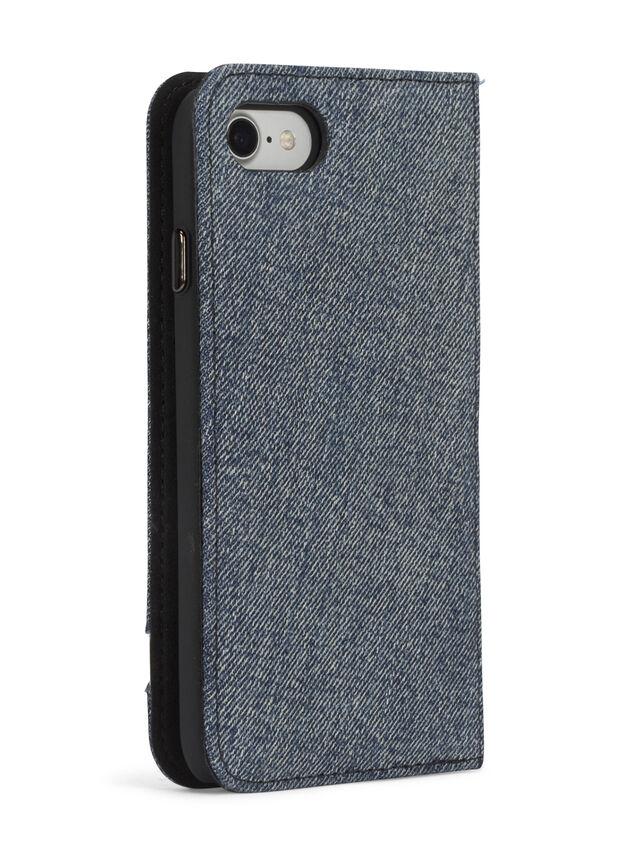 Diesel - DENIM IPHONE 8/7 FOLIO, Blue Jeans - Flip covers - Image 6
