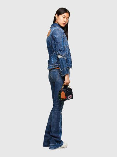 Diesel - DE-JYBRA, Medium blue - Denim Jackets - Image 6