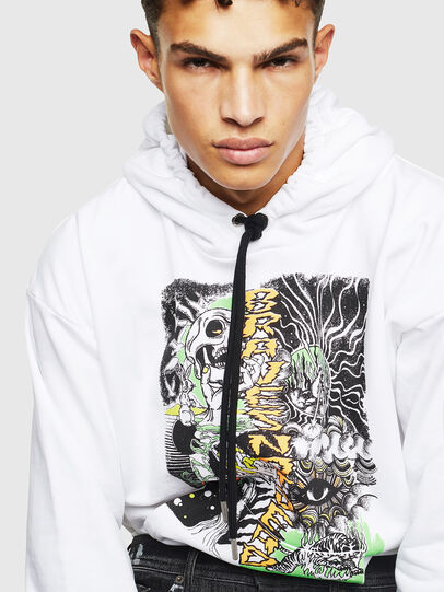 Diesel - S-ALBY-D1, White - Sweaters - Image 4