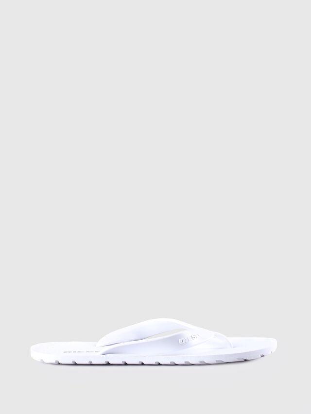 Diesel SPLISH, White - Slippers - Image 1