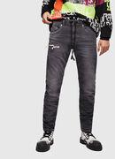 Thommer JoggJeans 069EM, Black/Dark grey - Jeans