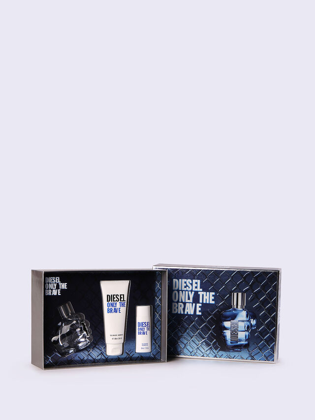 Diesel - ONLY THE BRAVE 50ML GIFT SET, Blue - Only The Brave - Image 1