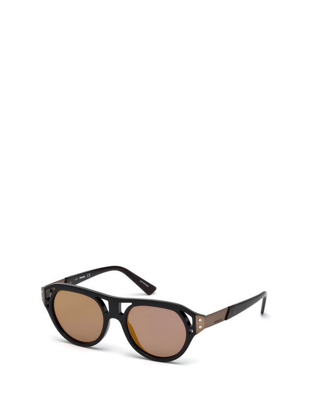 Diesel - DL0233, Black - Sunglasses - Image 6