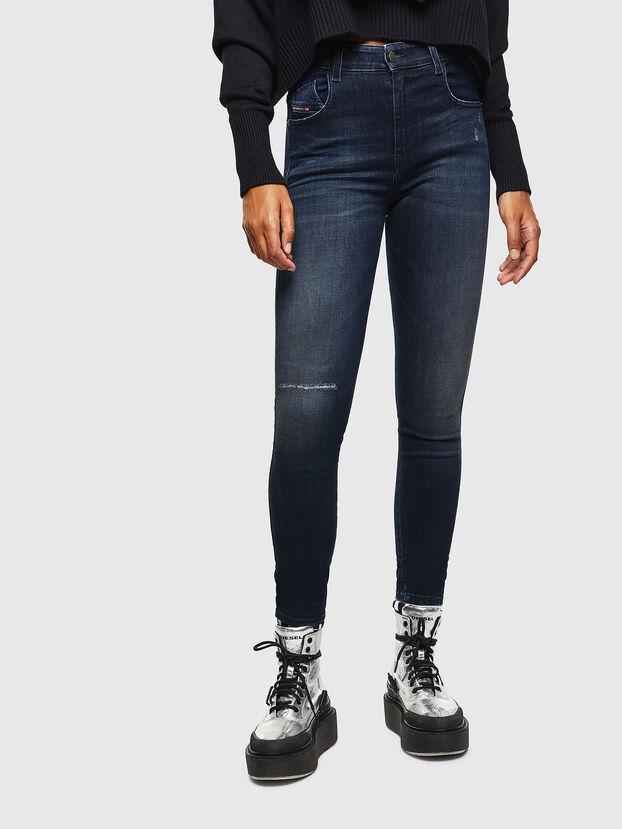 Slandy High 0870C, Dark Blue - Jeans