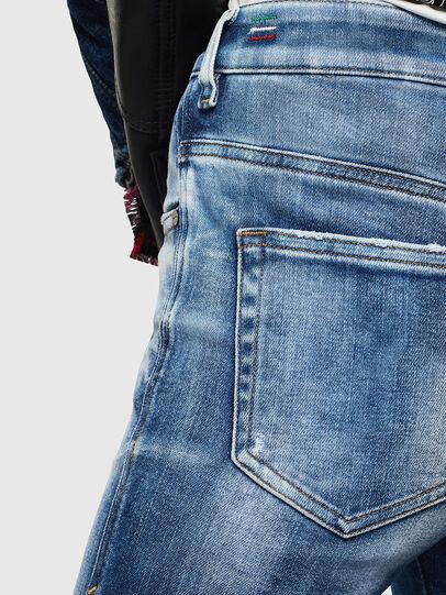 Diesel - Slandy High 0096J, Medium blue - Jeans - Image 6
