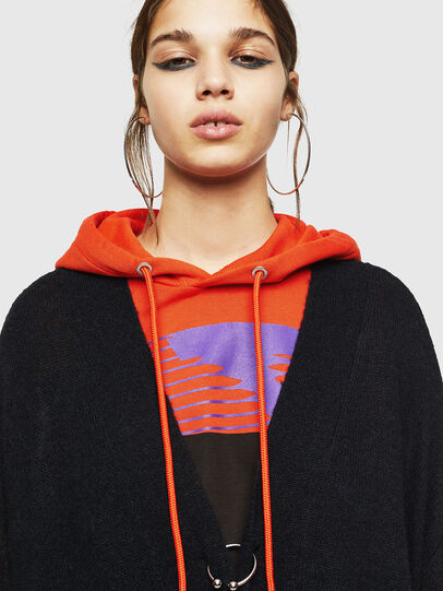 Diesel - M-SURI, Black/Red - Knitwear - Image 3