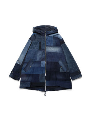 D-55PARKA, Medium blue - Winter Jackets