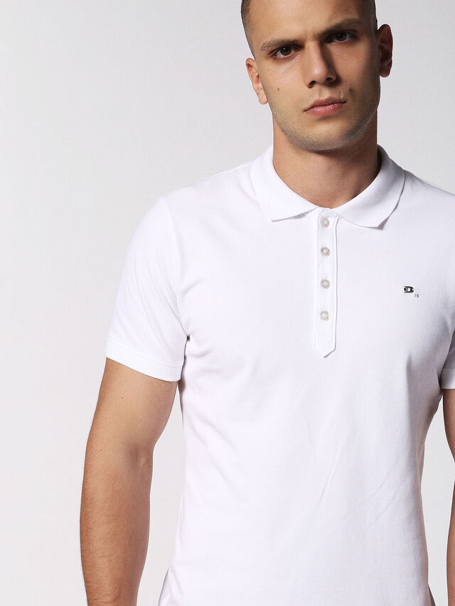 Diesel - T-HEAL, White - Polos - Image 5