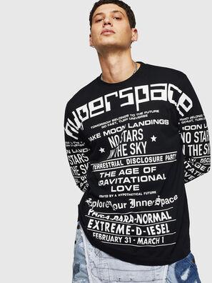 T-JUST-LS-BX1, Black - T-Shirts