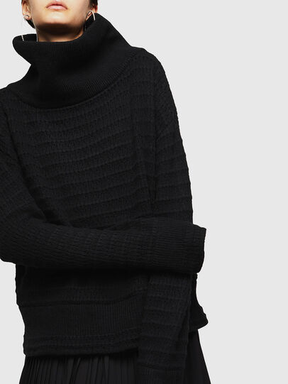Diesel - MELLEY, Black - Knitwear - Image 3