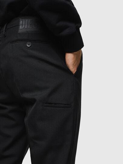 Diesel - P-JARED-WOOL, Black - Pants - Image 4