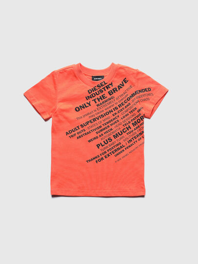 Diesel - TDIEGOS3B-R, Orange - T-shirts and Tops - Image 1