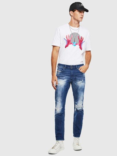 Diesel - Thommer JoggJeans 0099S, Dark Blue - Jeans - Image 6