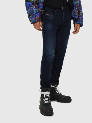 Sleenker 083AG, Dark Blue - Jeans