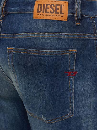 Diesel - D-Amny 009FB, Dark Blue - Jeans - Image 4