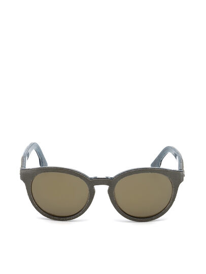 Diesel - DM0199, Green - Sunglasses - Image 1