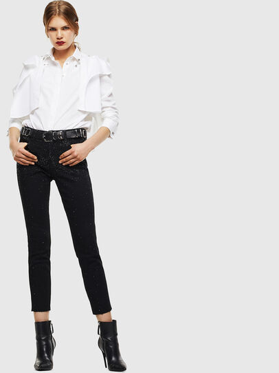 Diesel - C-RAILY-SHAPED, White - Shirts - Image 7