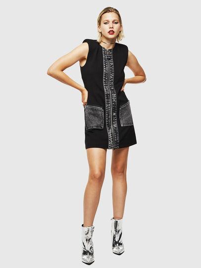 Diesel - D-SKUSA, Black - Dresses - Image 6