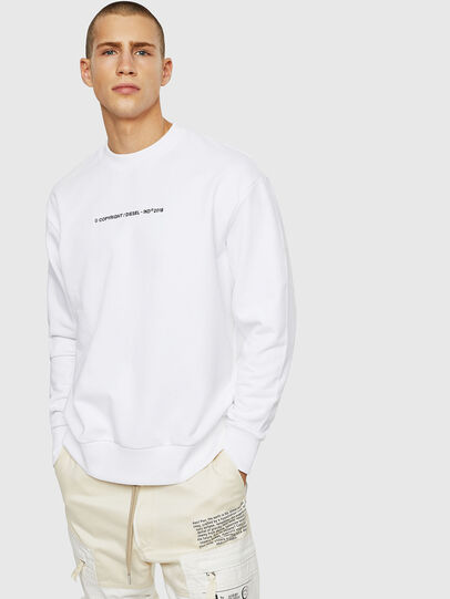 Diesel - S-BAY-COPY, White - Sweaters - Image 1