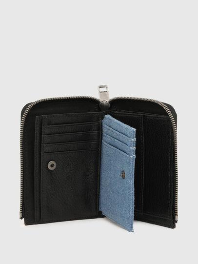 Diesel - L-12 ZIP, Black/Blue - Small Wallets - Image 3