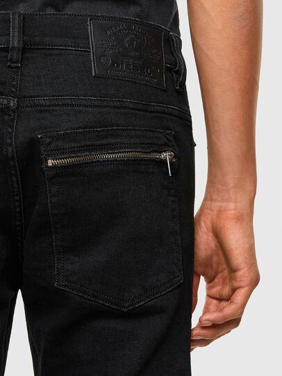Diesel - D-Amny 009RB, Black/Dark grey - Jeans - Image 4