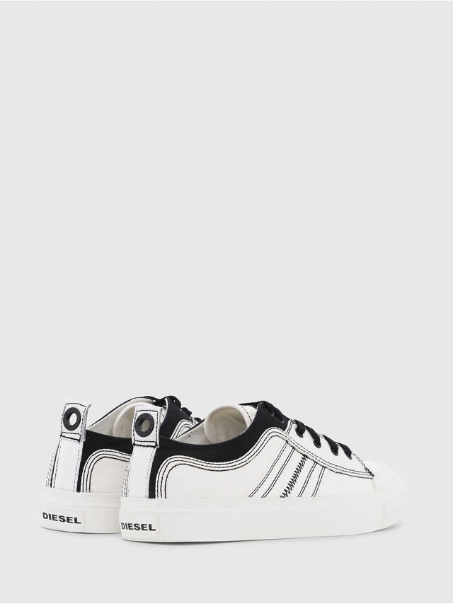Diesel - S-ASTICO LOW LACE, White/Black - Sneakers - Image 3
