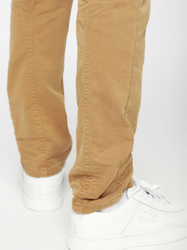 Diesel - Krooley JoggJeans 0670M, Camel - Jeans - Image 5