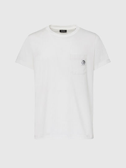 Diesel - T-WORKY-MOHI, White - T-Shirts - Image 1