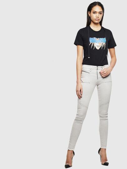 Diesel - Slandy 0097F, Light Grey - Jeans - Image 6