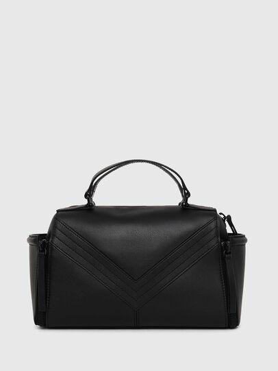 Diesel - LE-ZIPPER SATCHEL, Black - Satchels and Handbags - Image 2