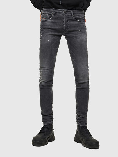 Diesel - Sleenker 069JR, Black/Dark grey - Jeans - Image 1