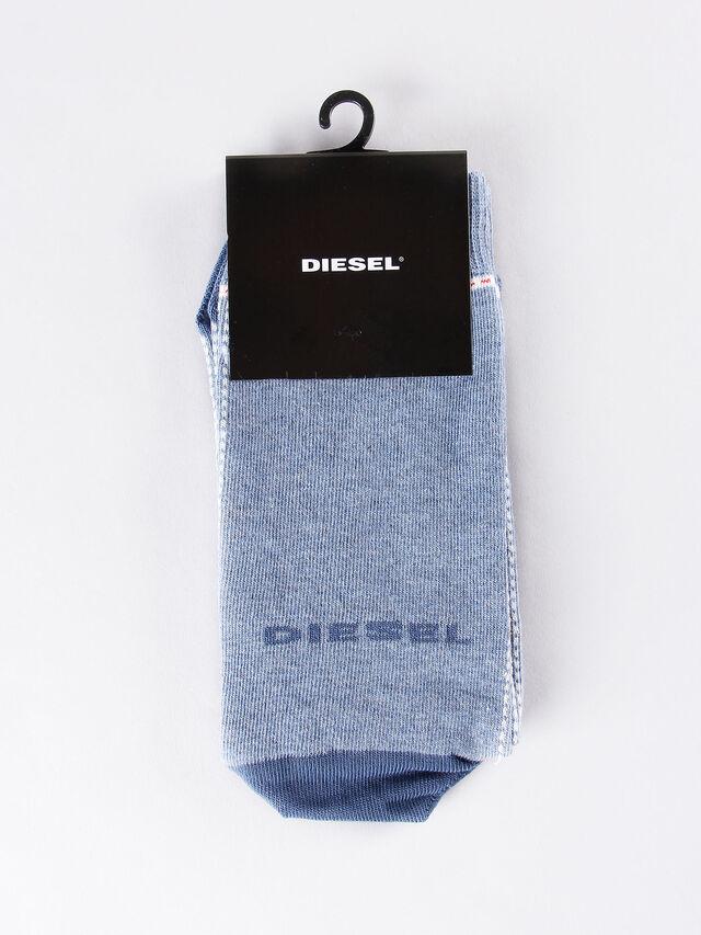 Diesel - SKM-RAY, Light Blue - Socks - Image 1