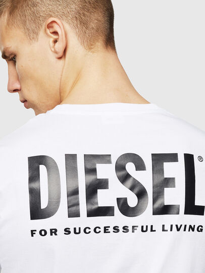 Diesel - LR-T-DIEGO-VIC, White - T-Shirts - Image 5