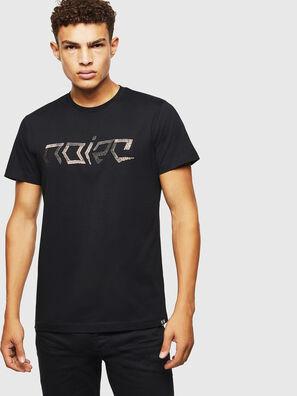 T-DIEGO-BAGH, Black - T-Shirts